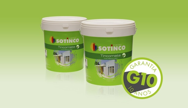TINCOMATE G10 E BELTEX: 10 ANOS DE GARANTIA.